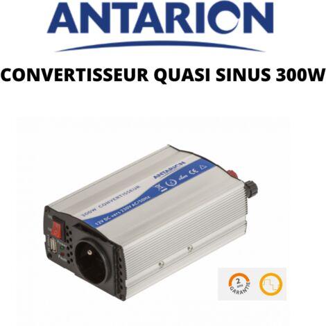 Antarion Convertisseur de tension quasi sinus 12v / 220v 300w