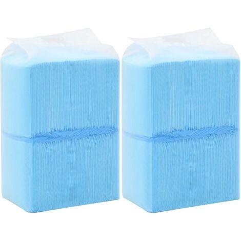 Tapis d'hygiène pour chiens 200 pcs 45 x 33 cm Tissu non tissé