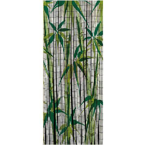 Rideau de bambou Bamboo, Rideau Mouche, 90x200 cm WENKO