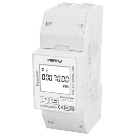 Contatore di energia monofase digitale Perry 2 DIN 1SDSD05CEM2DGT