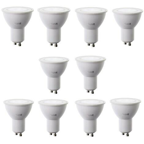 Kit Lampadine LED Beghelli 7W GU10 4000K 10 pezzi 56858