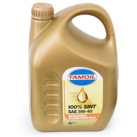 Olio per Auto TAMOIL SINT 100% sintesi 5W40 B-D 4 litri 9558