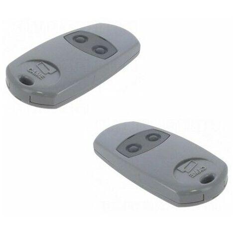 Pack de 2 télécommandes 2 boutons TOP432EE CAME