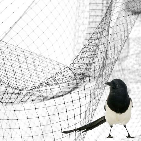 Rete Antiuccelli Anti Uccelli Volatili Copertura Ortaggi Piante Varie Misure STI