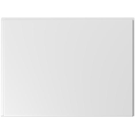 Hudson Reed Pannello Vasca Laterale - Acrilico Bianco - 800 x 510mm