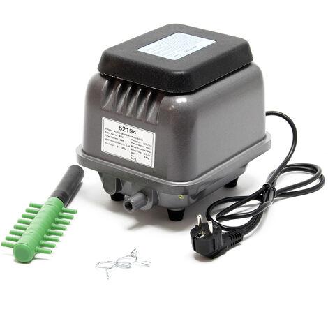 Sunsun HJB-120 Pompe à air électromagnétique A oxygène Pour Aquarium Bassin de jardin Silencieuse