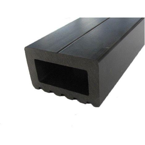 Lambourde terrasse bois composite - Coloris - Noir, Epaisseur - 3cm, Largeur - 5 cm, Longueur - 200 cm