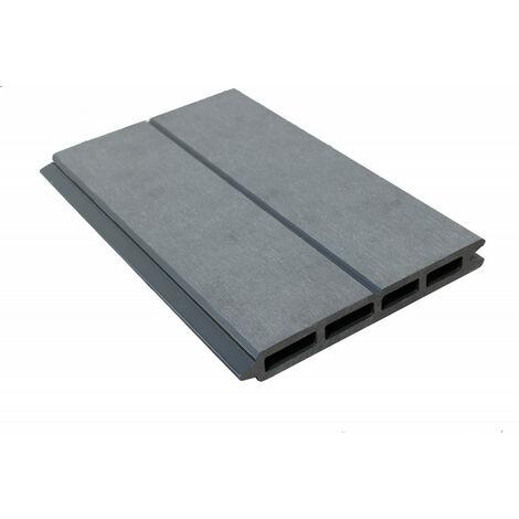 Lame de clôture bois composite L 148 cm / l 15.6 cm / E 19 mm
