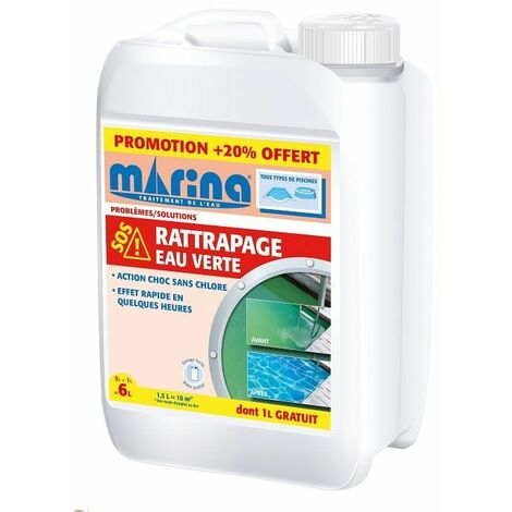 Rattrapage eau verte Marina - 6L