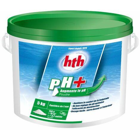 HTH pH Plus 5kg - pH Plus en poudre