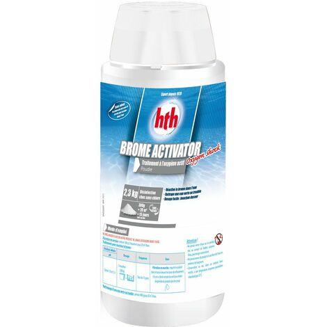 HTH Brome Activator Oxygen Shock 2,3 kg - Traitement à l'oxygène actif en poudre