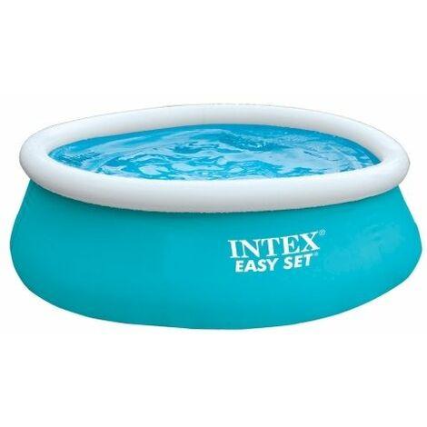 INTEX - Kit piscinette Easy Set gonflable 2,44 x 0,76 m