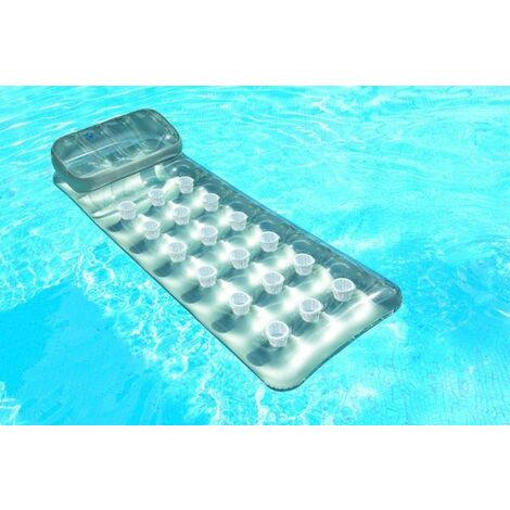 Matelas gonflable de piscine Suntanner Intex