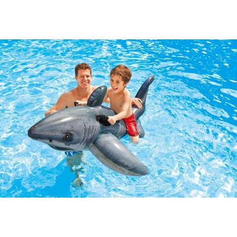Requin gonflable 1.73x1.07m - Gris