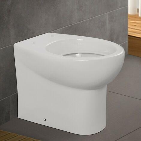 WC filomuro salvaspazio serie ICE senza copriwater