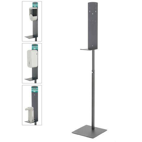 Piantana Porta Dispenser Sapone a Muro e da Appoggio Universale per Detergenti
