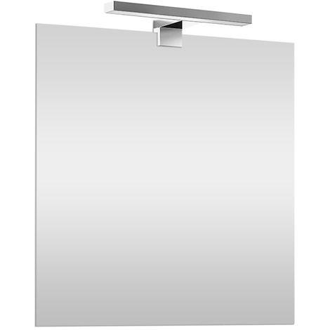 Specchio a LED luce naturale reversibile 60x80 cm LED incluso
