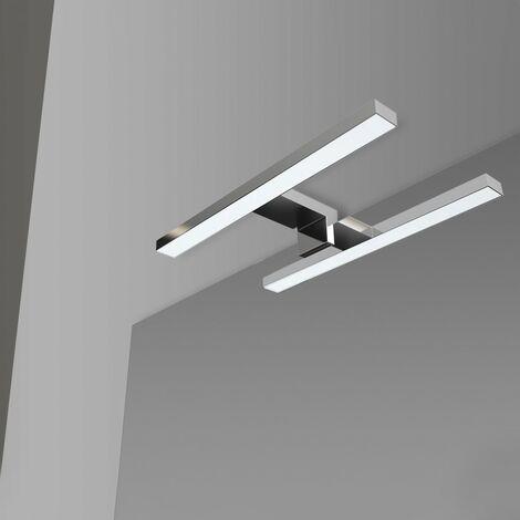 Lampada LED Universale per Specchio a Filo o Pannello da 30 cm luce naturale