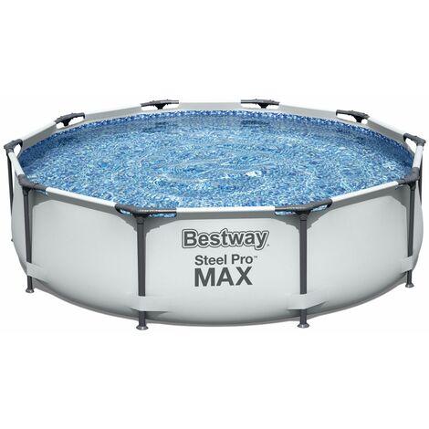Piscine Hors-sol Tubulaire Bestway Steel Pro Max 305x76 cm
