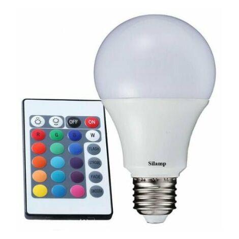 Ampoule E27 LED 5W 220V RGB - SILAMP