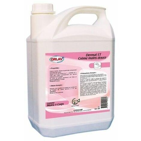 TOPCAR - Bidon savon derma st crème mains douces 5L - 002026001