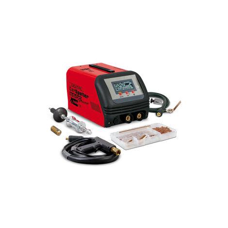 SALDATRICE A RESISTENZA ELETTRONICA DIGITAL CAR SPOTTER 5500 400V + ACC cod. 823232 TELWIN