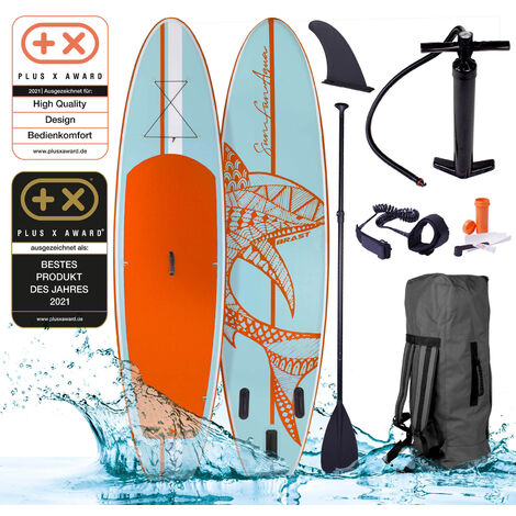 SUP Board aufblasbar SHARK 320 blue