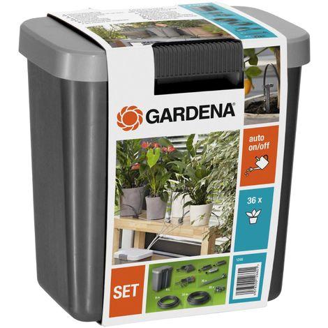 Gardena 1266-20 Urlaubsbewässerung-Set mit Vorratsbehälter Bewässerungssystem