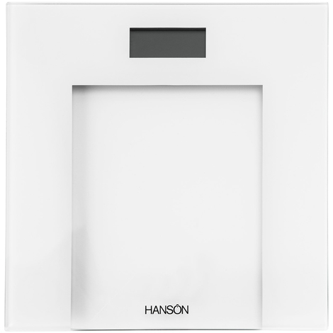 Hanson White Digital Glass Scales