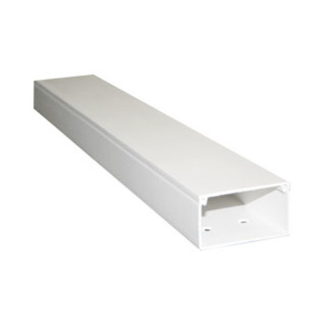 Canaleta de fijación a tornillo de 30 x 20 mm color Marfil Electro Dh 48.005/30X20/M 8430552115082