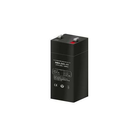 Bateria PLOMO 4V 4Ah AGM 47x47x100mm ENERGIVM