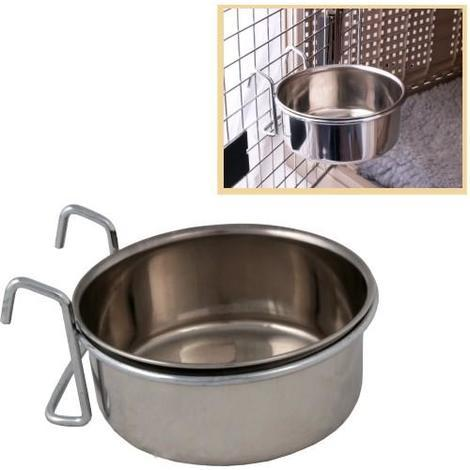 Comedero bebedero  perros y gatos para jaulas disponible en varias opciones