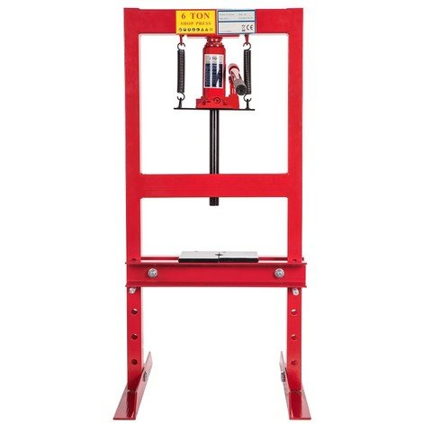 6 Ton Heavy Duty Hydraulic Workshop Garage Shop Standing Press 6000 kg