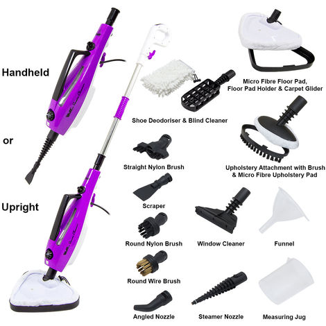 Wolf Pro 1500w 14in1 Multifunction Steam Cleaner