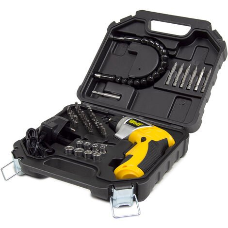 Wolf 3.6V Cordless Screwdriver Kit