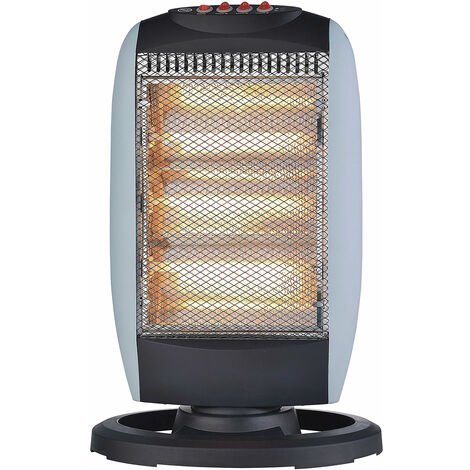 Powerful 1200 Watt Oscillating Halogen Heater
