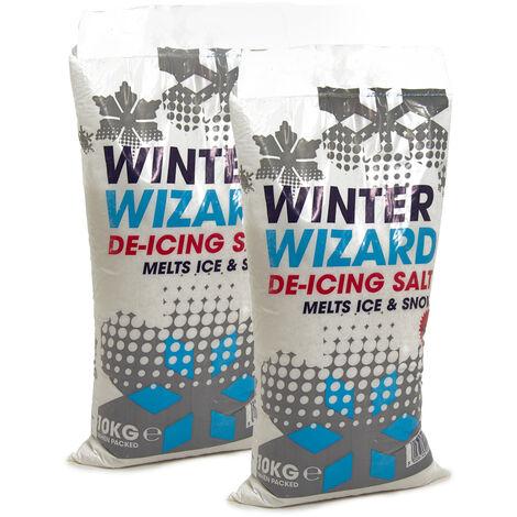 20Kg Winter Wizard White De-icing Salt