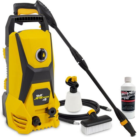 Wolf Jet Blaster 4 Pressure Washer with 500ml Snow Foam