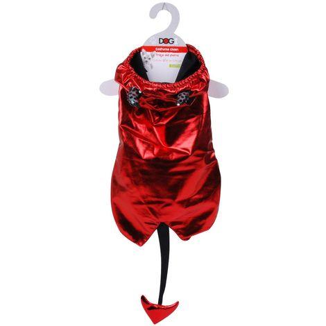 Costume pour chien Démon - Taille M - 35 x 21 - Rouge