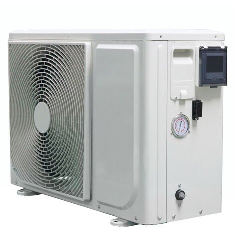 Pompe à chaleur piscine pacfirst new eco 7 kw wifi monophasé pour piscines jusqu'à 45 m³