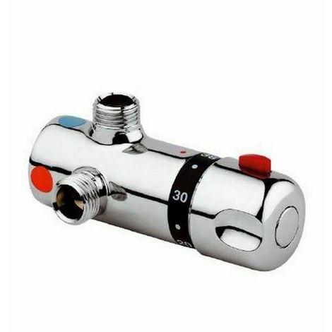 09029 Miscelatore termostatico sotto boiler con kit di installazione IDRAL