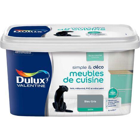 Peinture Meubles de Cuisine couleur Satin - Simple & Déco Dulux Valentine