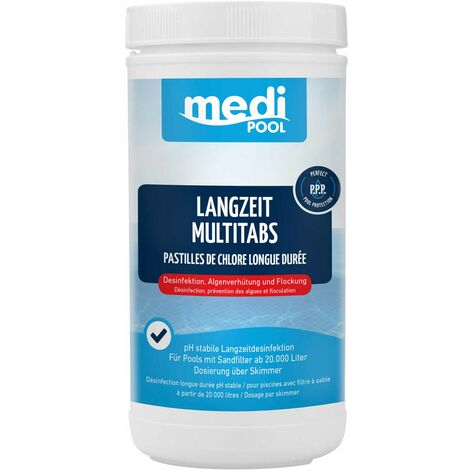 mediPOOL Langzeit MultiTabs je 200 g