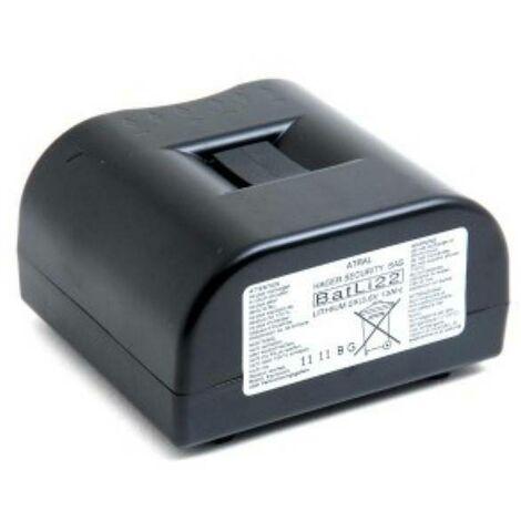 Logisty hager batteria al litio 2x3,6v 13 ah per centrali e sirene batli22
