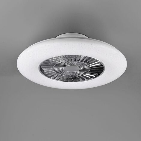 Trio lighting italia visby ventilatore/plafoniera led dimmerabile d66 3000lm r62402106