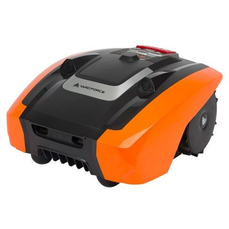 Robotic Mower AMIRO 400i App Controlled & Active Safety Ultrasonic Sensor Technology, for lawns up to 400m²