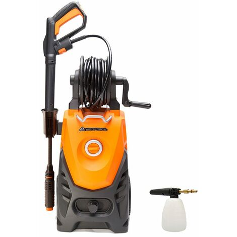 Electric 150Bar Max 2000W High-Pressure Washer with Accessories Cleaner for Home and Garden