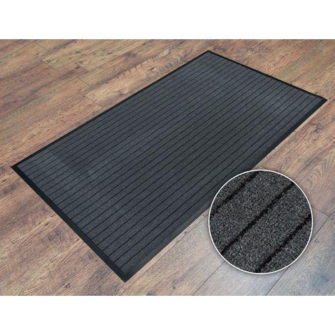 60x90cm (2'x3') Striped Heavy Duty Non Slip Barrier Entrance Office Door Floor Mat