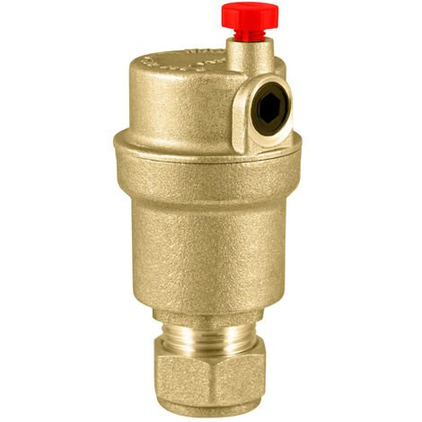 Intatec - 15mm All-Brass Automatic Air Vent Valve AAV07911500B