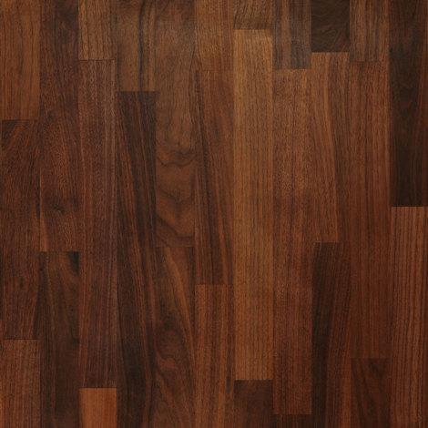 Solid Black American Walnut Wood Worktop Upstand 3M X 80 X 18mm